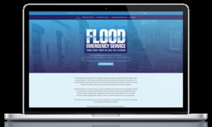 Flood Emergency Service website by Black Hen