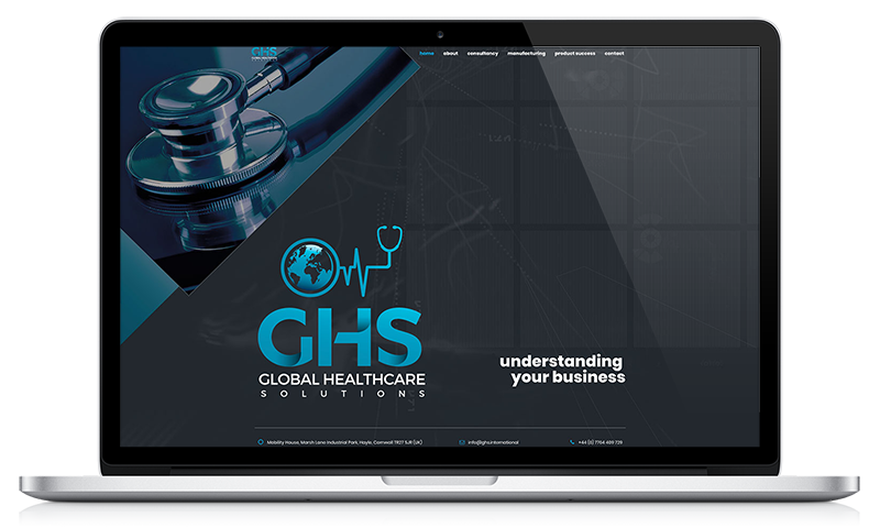 GHS website by Black Hen