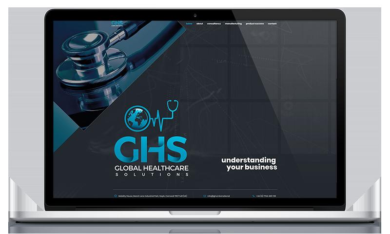 GHS website by Black Hen