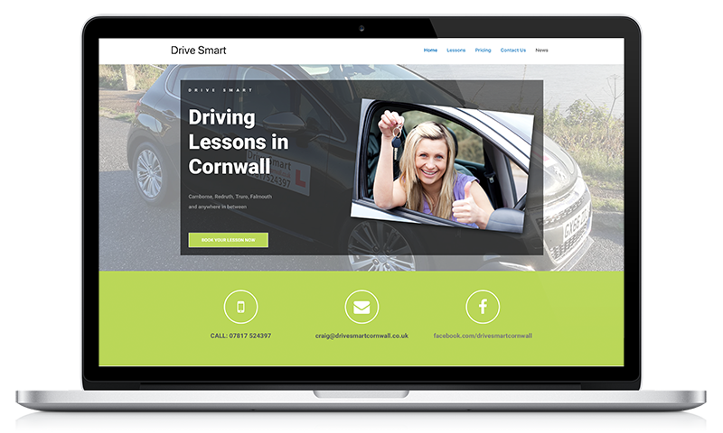Drive Smart website by Black Hen