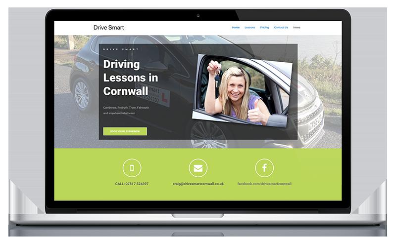 Drive Smart website by Black Hen
