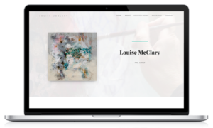 Louise mcClary website by Black Hen