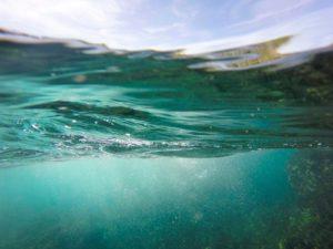 clear waters underwater