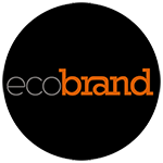 Ecobrand logo in a circle